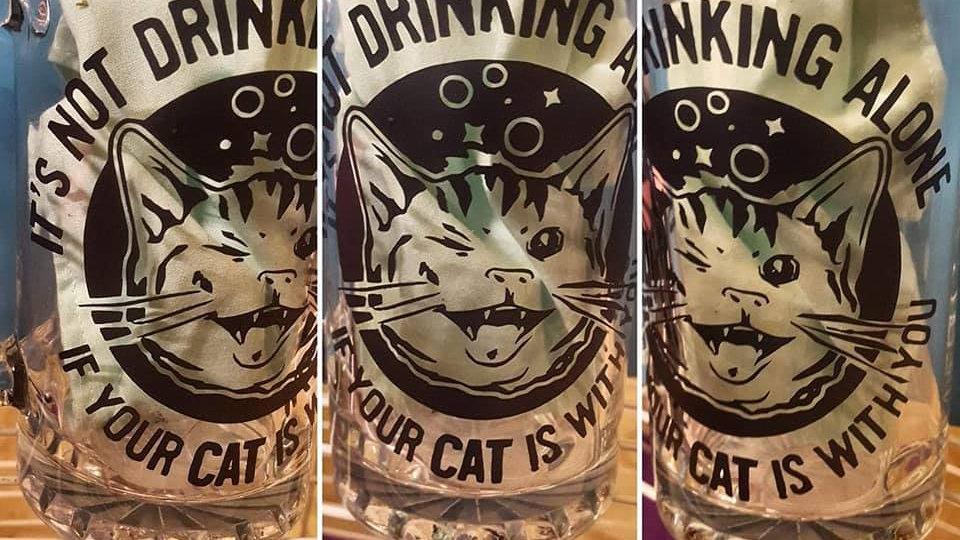 Drunken Kitty Mug