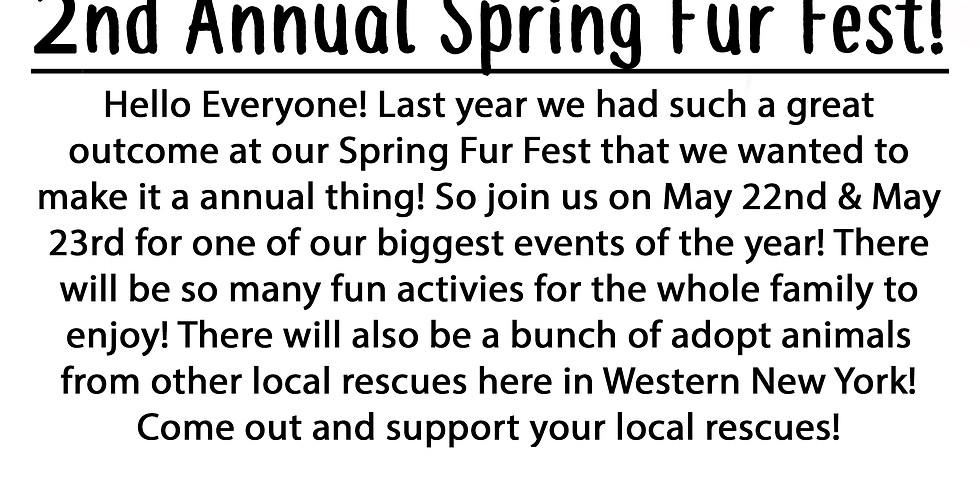 2nd Annual Spring Fur Fest