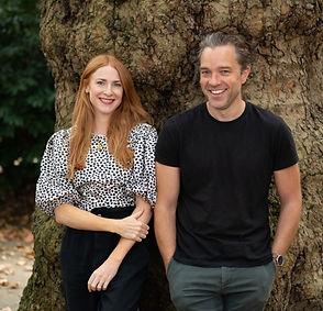 Rosalie Craig and Hadley Fraser