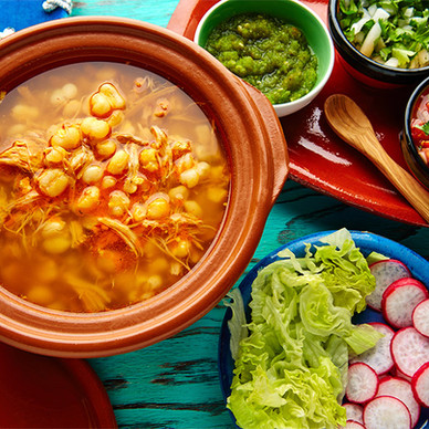 A Mexican cooking class