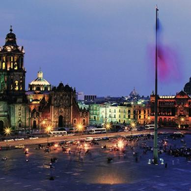 Mexico at Night Tour