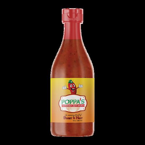 10 oz. Poppa's Gourmet Hot Sauce