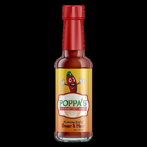 5 oz. Poppa's Gourmet Hot Sauce