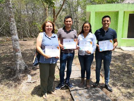Colaboradores FPP reconocidos por el Sello Colectivo Calakmul