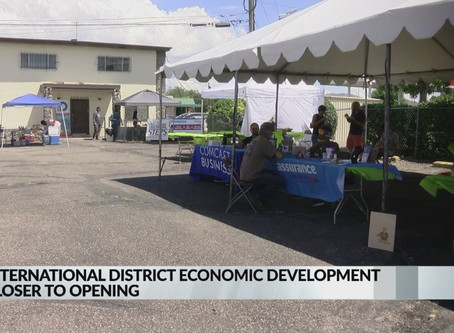 Bright is working with International District Economic Development Center