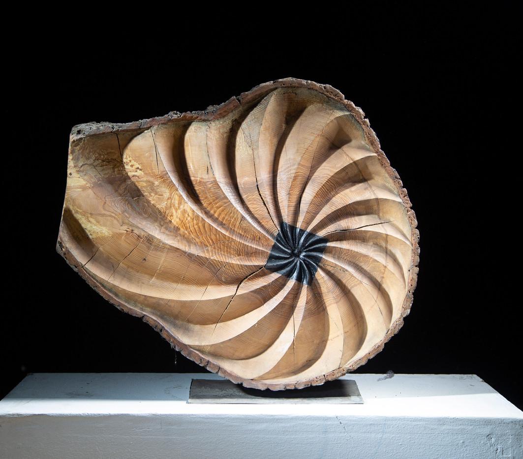 Bronze iron spiral