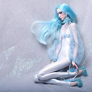 Blue. Transgender