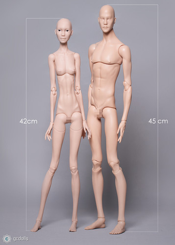 Slim line resin. Male and Female