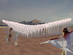 A cold story (in a warm place) / Burning Man / Pre-selected project