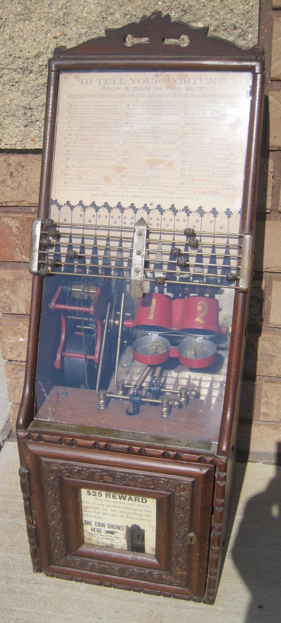 Clawson Dice Machine