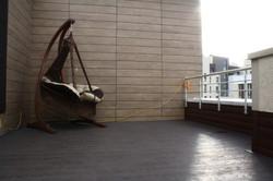 Место для отдыха на крыше