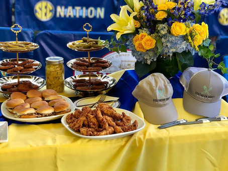 Southern Craft Stove + Tap Caters for Ole Miss Football Tailgating
