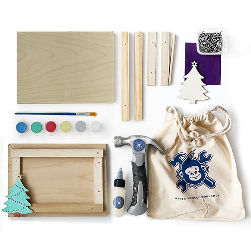 Christmas Picture Frame Building Kit (Various Styles)
