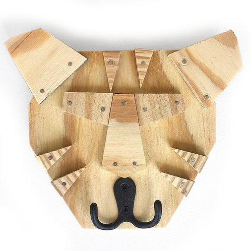Tiger Face Wall Hook Building Kit