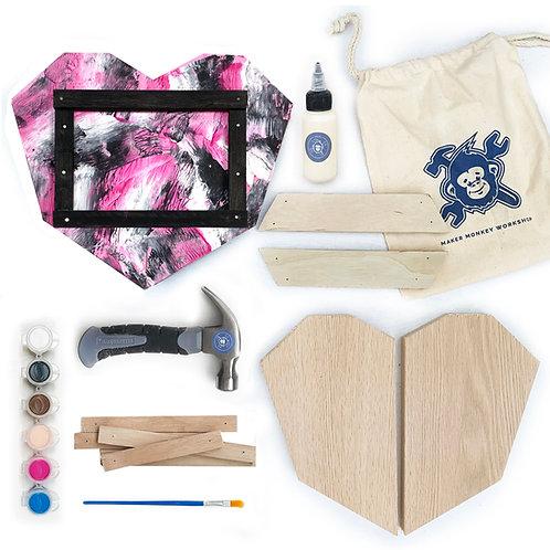 Heart  Frame Building Kit