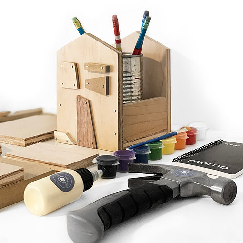 Home Sweet Home Pencil Holder Building Kit