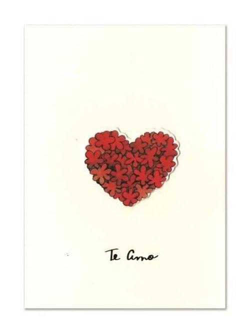 cartão teca te amo