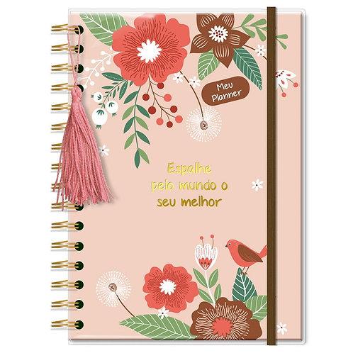 Planner Permanente M Jardim -Fina Ideia