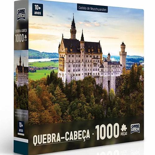 Quebra-Cabeça Castelo de Neuschwanstein - 1000 peças - Game Office