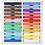 Thumbnail: Giz Pastel Seco Reeves 24 Cores