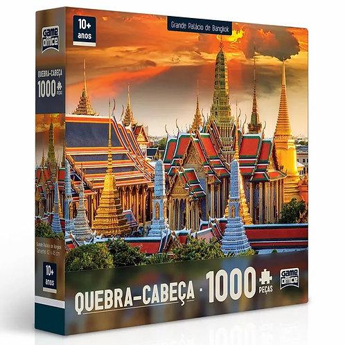 Quebra-Cabeça Grande Palácio de Bangkok - 1000 peças - Game Office