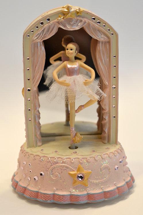 Caixa de música Bailarina c/ espelho