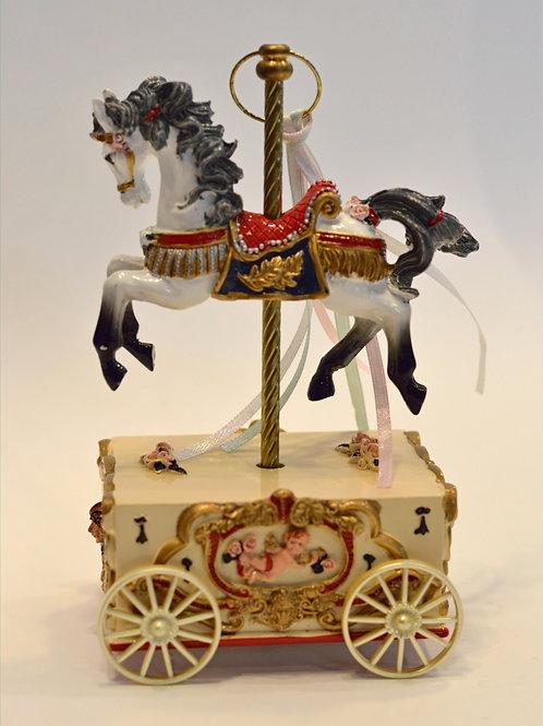 Caixa de música com Cavalo