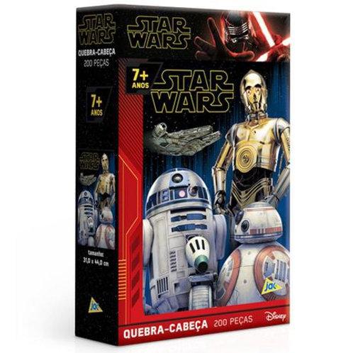 Quebra-Cabeça Puzzle 200 Peças - Star Wars IX: A Ascensão Skywalker | Toyster