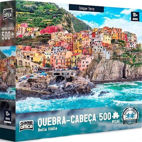 Quebra-cabeça  500 Peças Bella Itália - Cinque Terre |  Game Office - Toyster