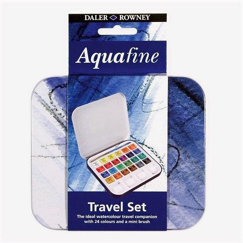 Aquarela Aquafine com 24 pastilhas