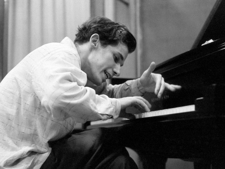 Aria from Bach's Goldberg Variations, played by Glenn Gould