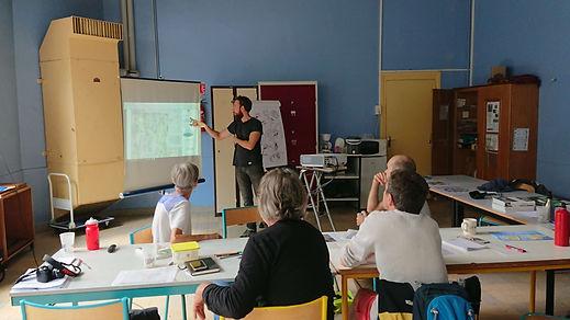 Formation TELLUS Initiation à la permaculture par Baptiste Pasteur