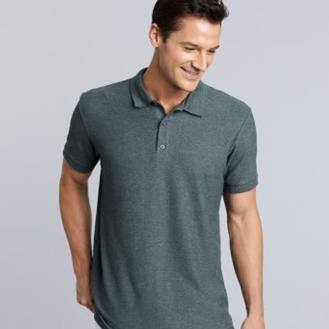 GD43 Gildan Premium Cotton® Double Piqué Polo Shirt