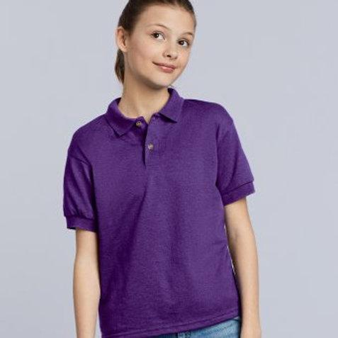 GD40B Gildan Kids DryBlend® Jersey Polo Shirt
