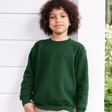 GD56B Gildan Kids Heavy Blend Drop Shoulder Sweatshirt