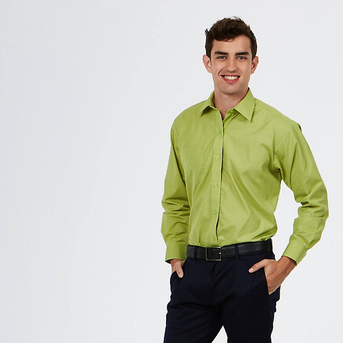 UC709 Men's Poplin Full Sleeve Shirt