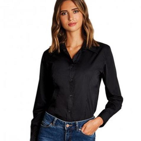K729 Kustom Kit Ladies Long Sleeve Workforce Shirt
