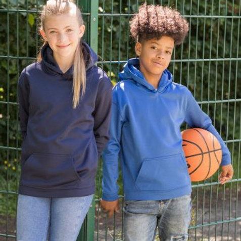 JH006B AWDis Kids Sports Polyester Hoodie