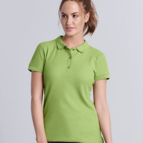 GD73 Gildan Ladies Premium Cotton® Double Piqué Polo Shirt