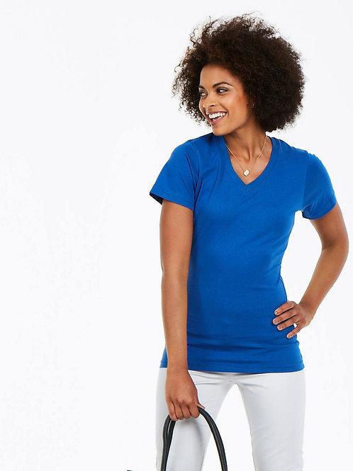 UC319 Ladies Classic V-Neck T-Shirt