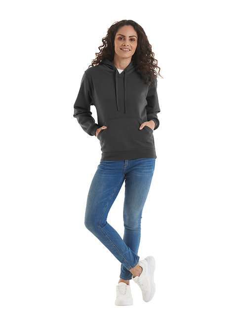 UC510 Ladies Deluxe Hooded Sweatshirt