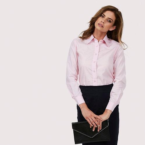 UC711 Ladies Poplin Full Sleeve Shirt