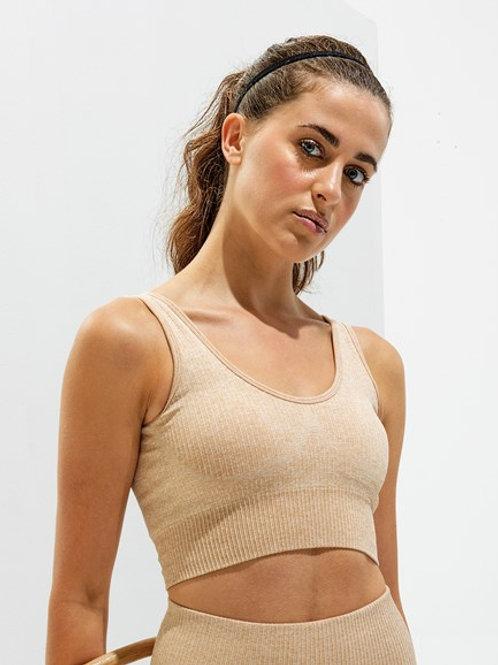 Women's TriDri® ribbed seamless 3D fit multi-sport bra