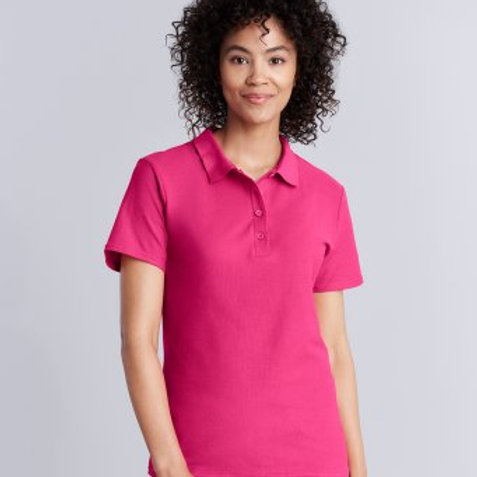 GD75 Gildan Ladies SoftStyle® Double Piqué Polo Shirt