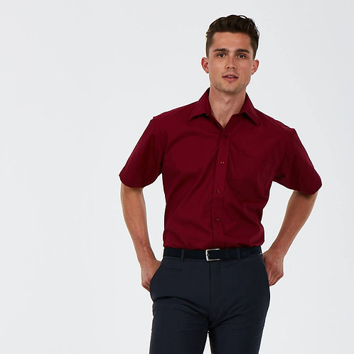 UC710 Men's Poplin Half Sleeve Shirt