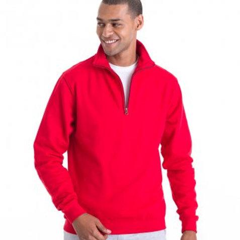 JH046 AWDis Sophomore Zip Neck Sweatshirt