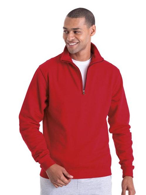 JH046 Sophomore Zip Neck Sweatshirt