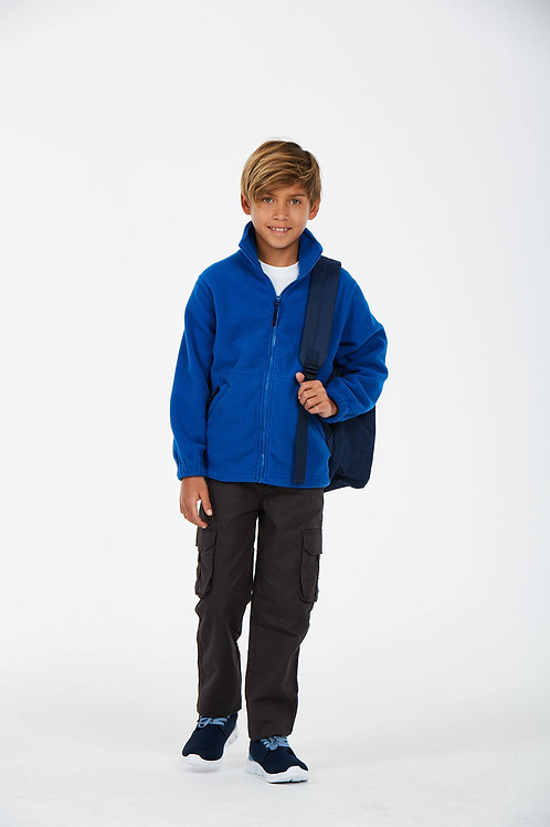UC603 Children's Full Zip Micro Fleece Jacket