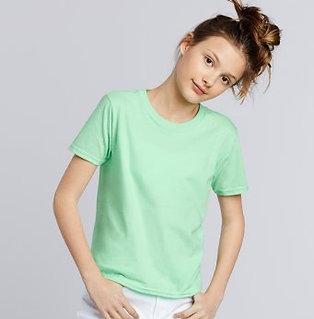 GD01B Gildan Kids SoftStyle Ringspun T Shirt