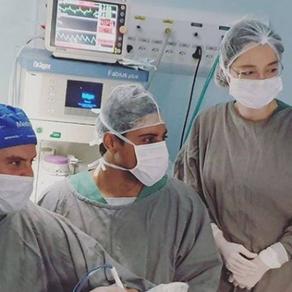ICAVC realiza inovadora reconstrução microcirúrgica